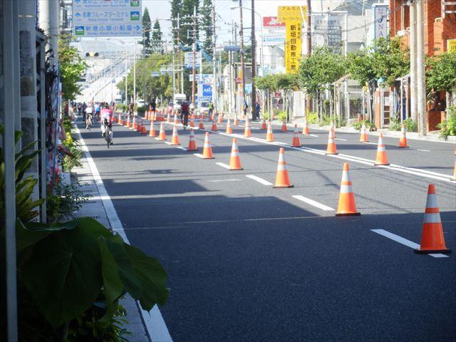 沖縄トライアスロン開催中