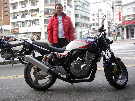 CB400SF Revo T様